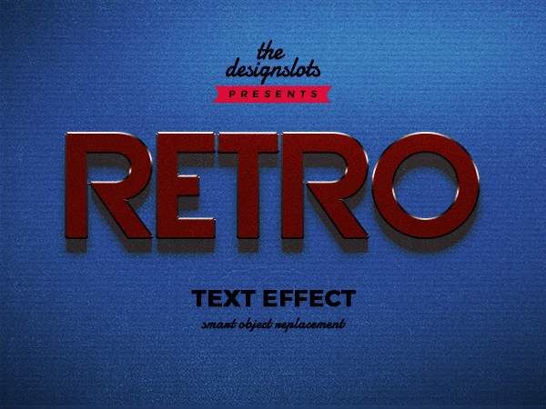 07 Retro Vintage Text Effect