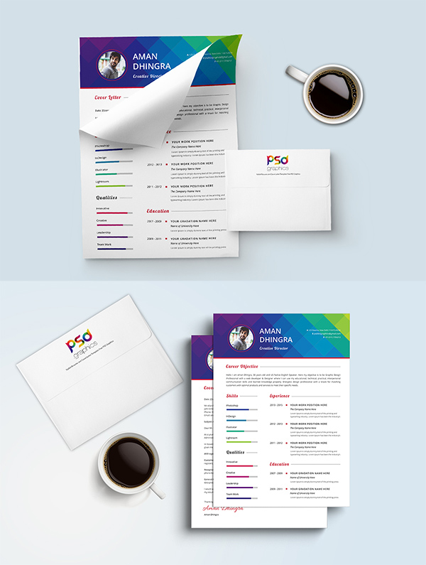 09 Resume & Cover Letter Template