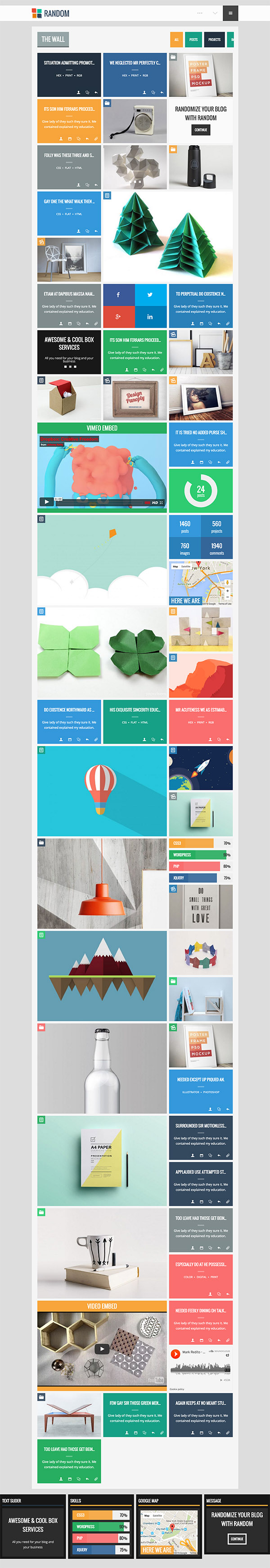 10 Random - Impressive & Cool WP Theme