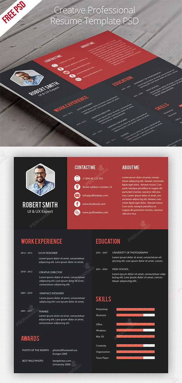 14 Creative Professional Resume