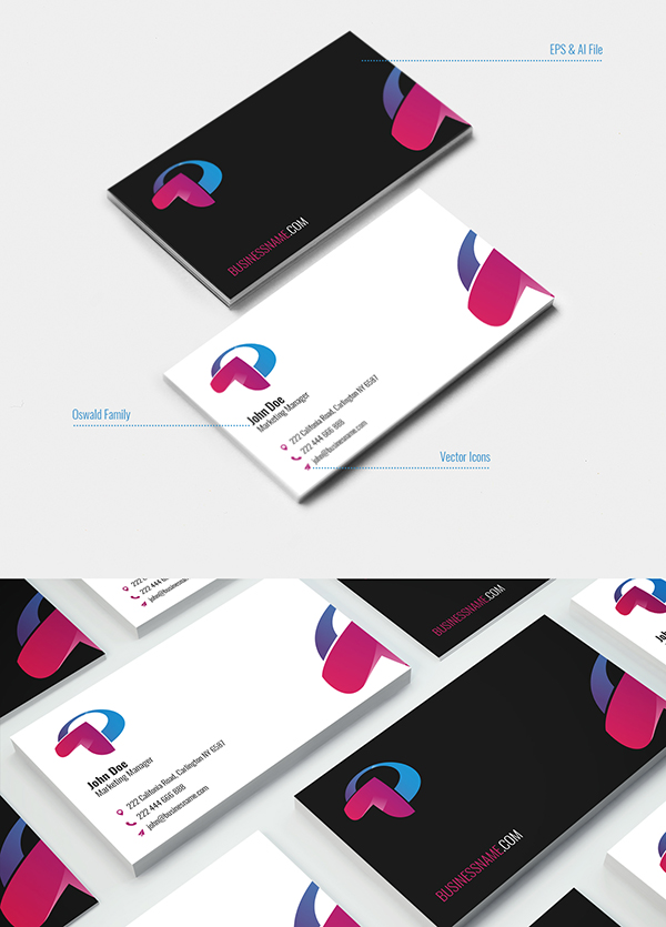 16 Business Card Template