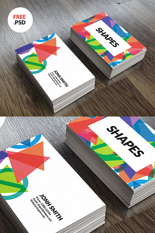 20 Visiting Card Free PSD