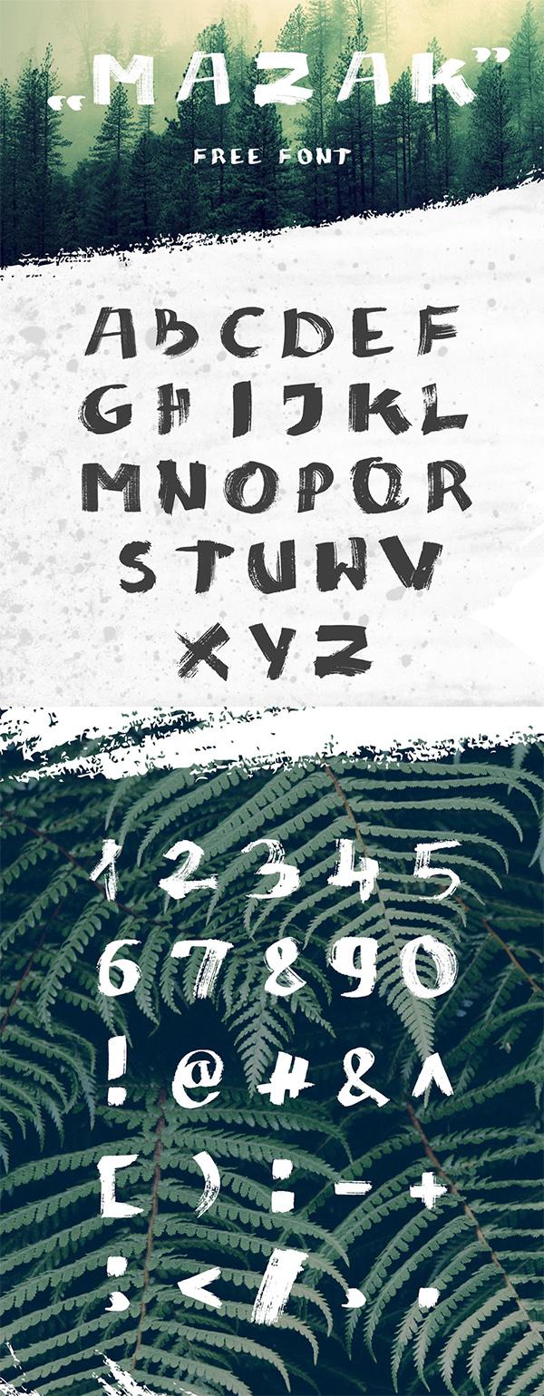 11 Mazak Free Font