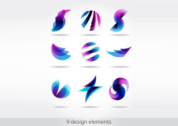 13 Abstract Symbol Vector Graphics