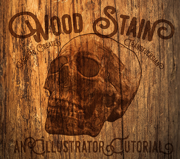 14 Create a Stained Wood Effect