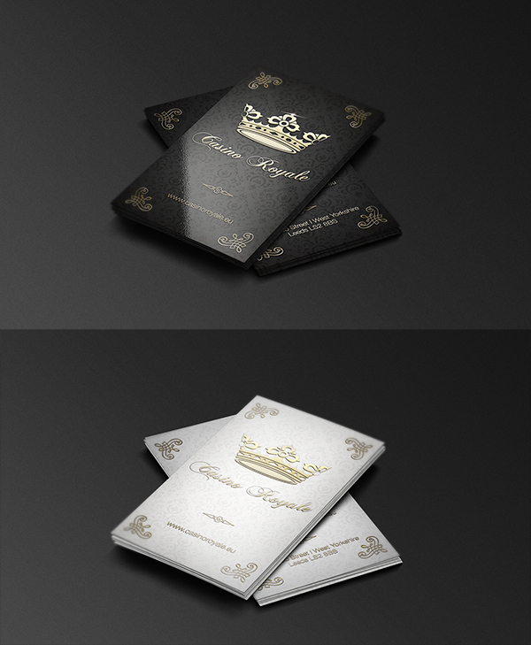 19 Casino Royale Business Card