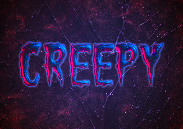 28 Create a Creepy Halloween Text Effect in Photoshop