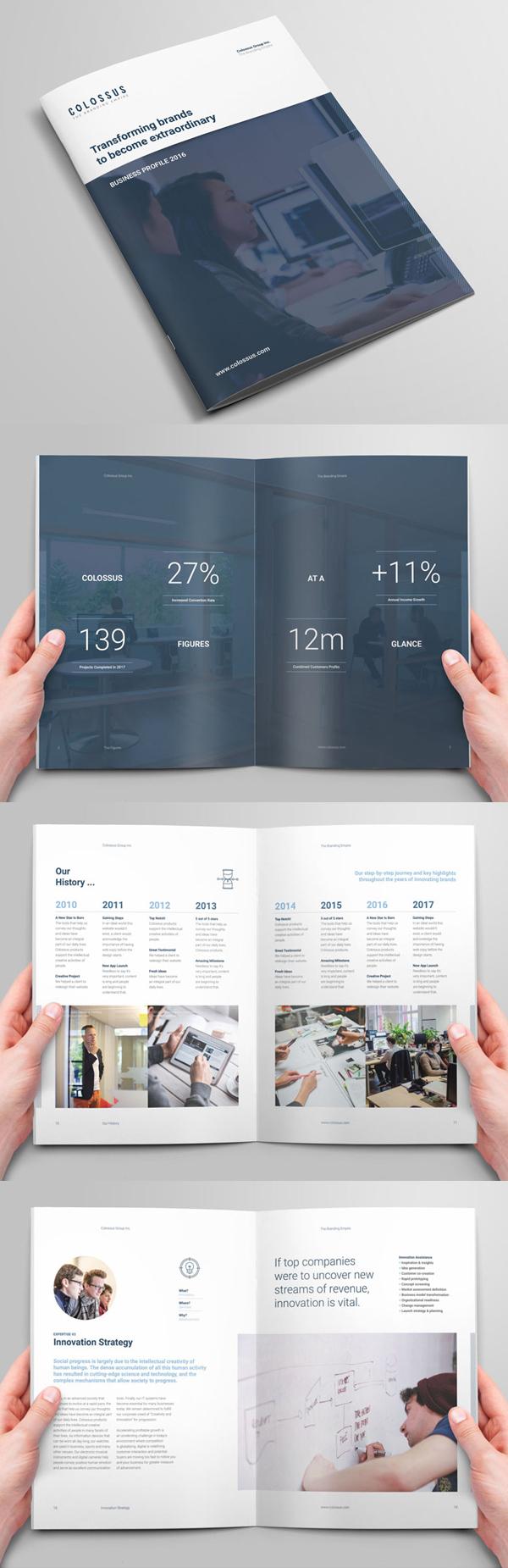 002 brochure design