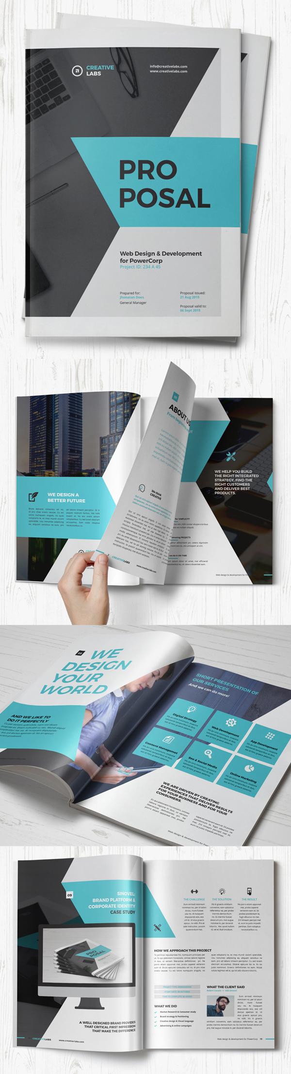 012 brochure design