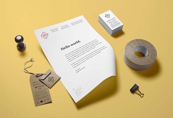 26 Branding : Identity Stationary Mockup