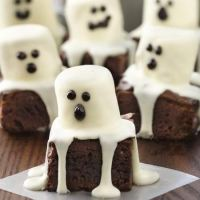 Halloween Treats - Spooky Boo Brownie Recipe