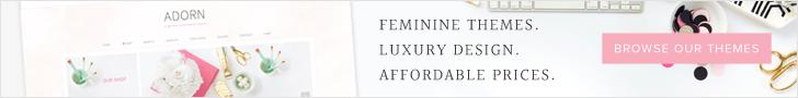 Feminine WordPress Themes using the Genesis Framework by Restored 316
