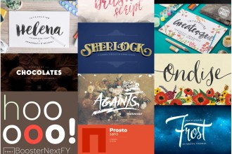 22 Professional & Artistic Fonts (With Web Fonts and Extended Licensing) Just $29