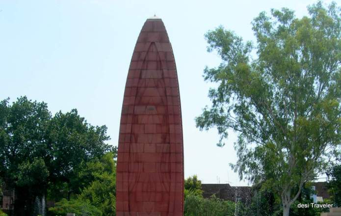 Jalianwala Bagh Memorial eternal flame Amar Jyoti