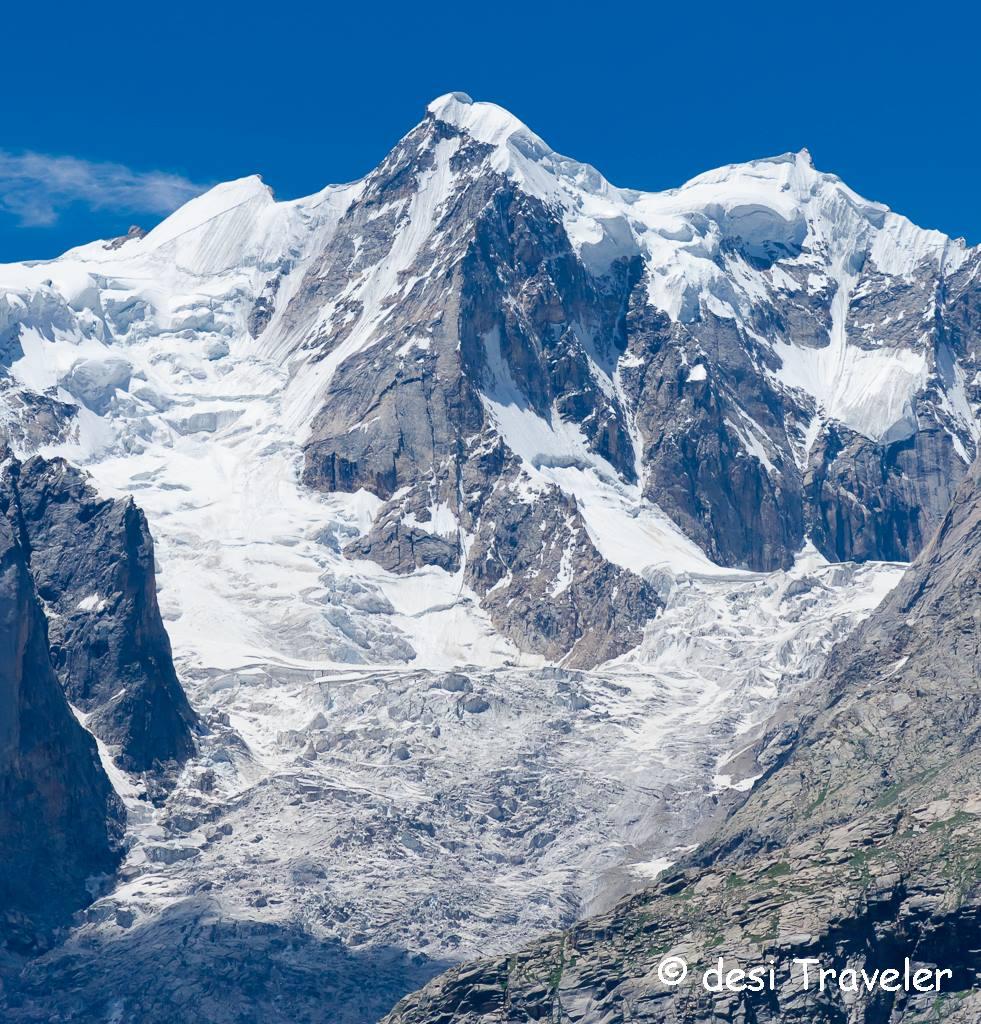 Bara Shigri Glacier ice