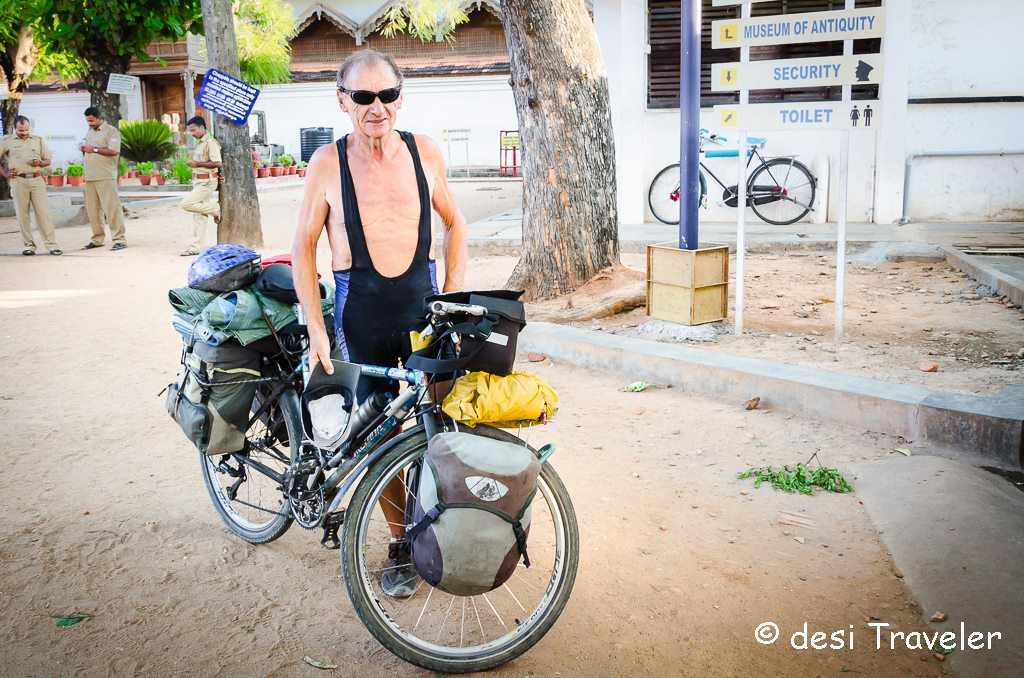 old french cyclist Solo Travel