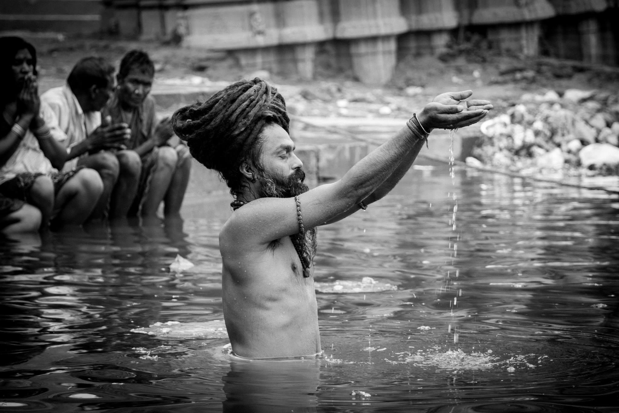 Naga Sadhu shahi snan kumbh mela
