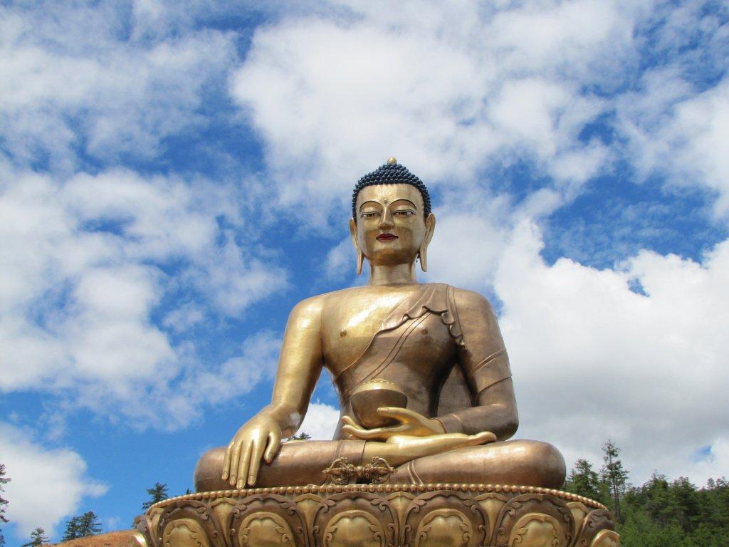Buddha Dordenma - 170 Foot Statue of Buddha in Bhutan