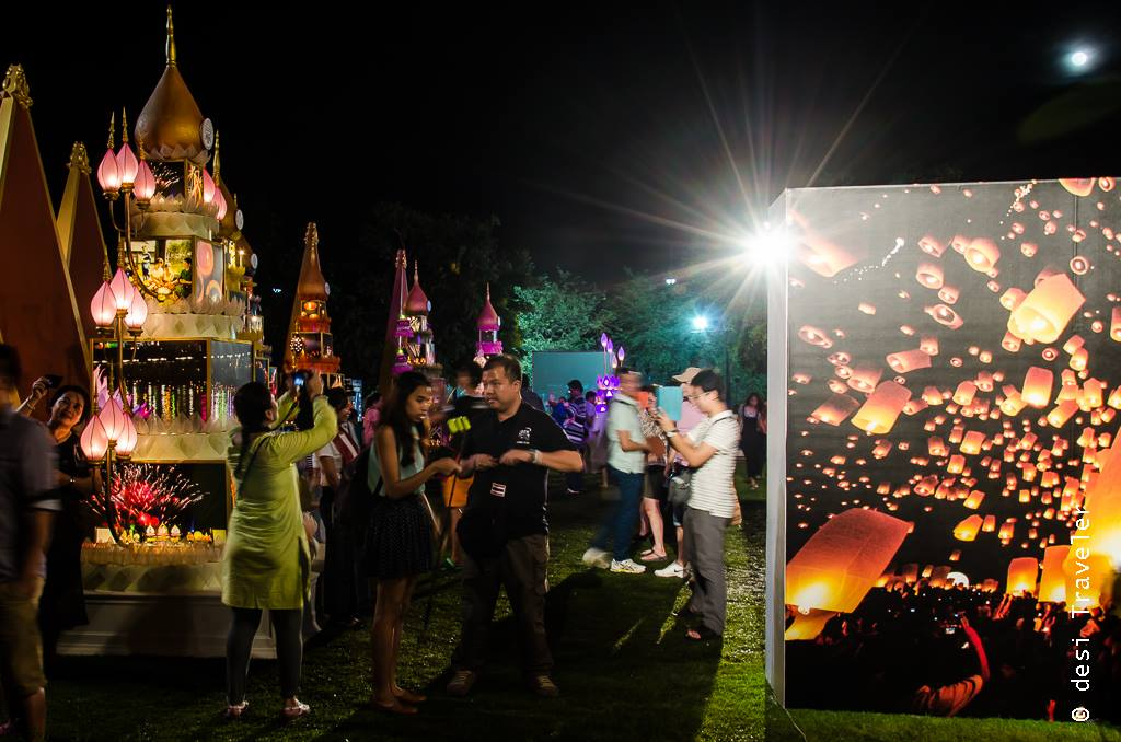 Loi Krathong and Yi Peng celebrations