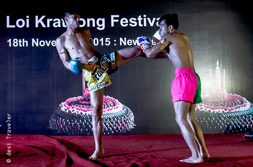 Muay Thai Kick Boxing performance