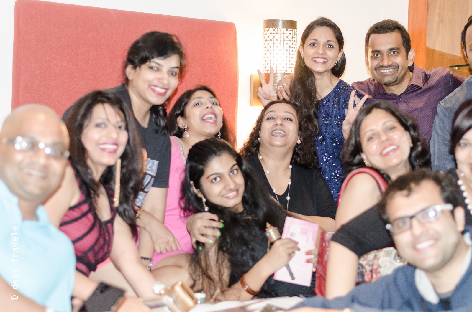 Bloggers at Zica Launch Event