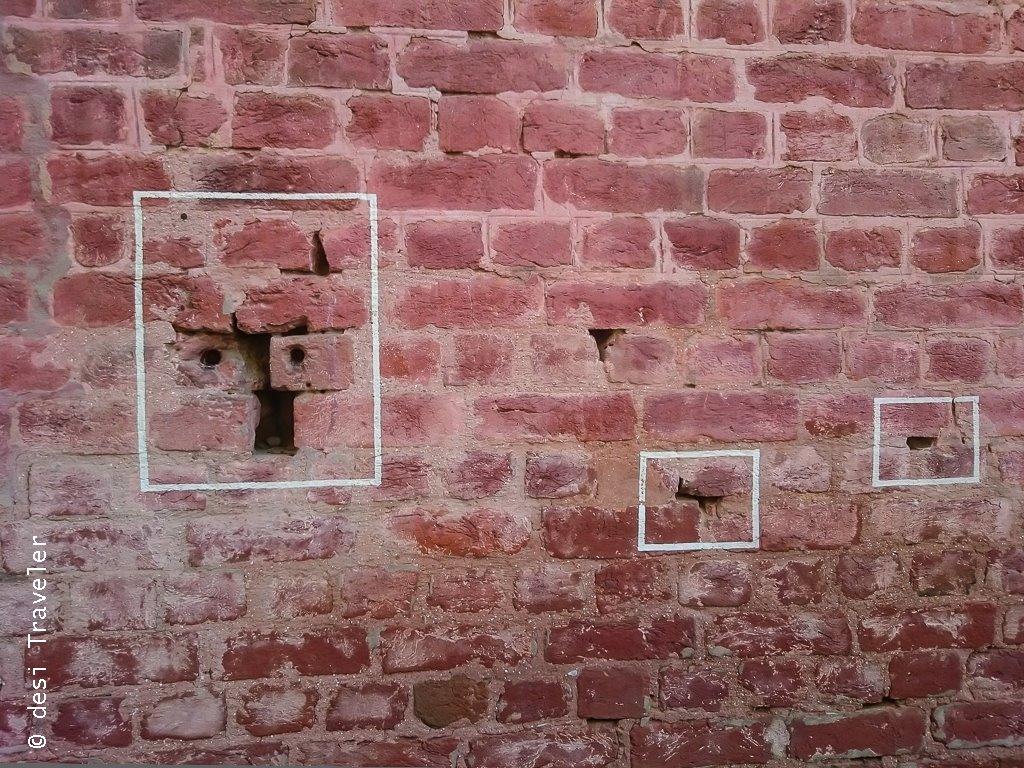 Bullet Marks Jallianwala Bagh Amritsar Heritage Walk