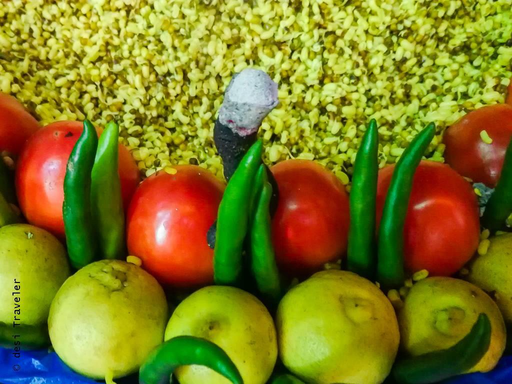 Street Food Delhi Dal Moth