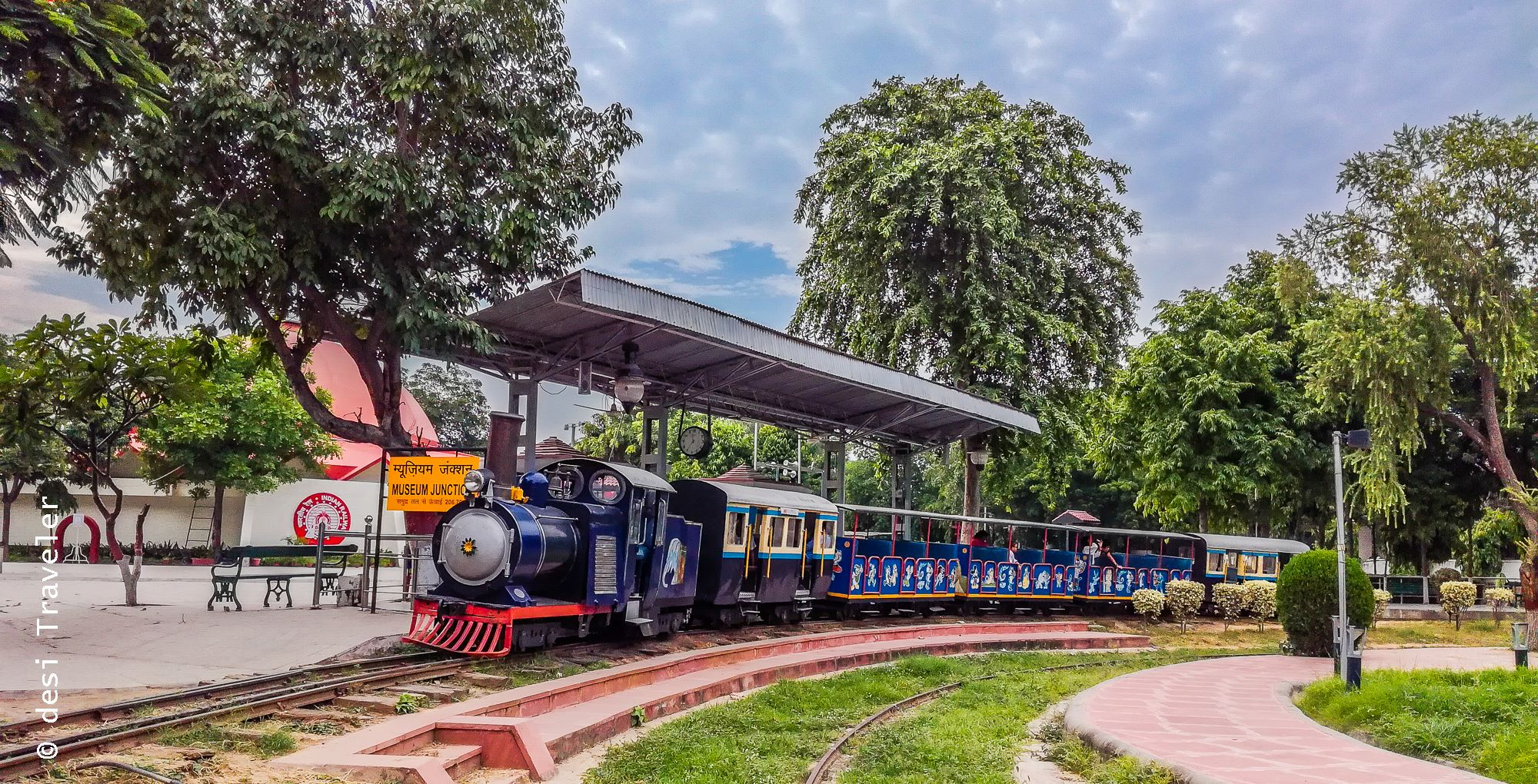 Toy Train Tracks : A visit to national rail museum hidden treasure in