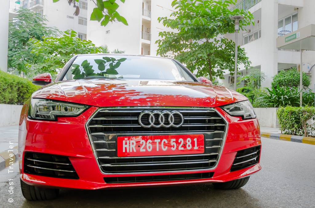 Audi A4 Red