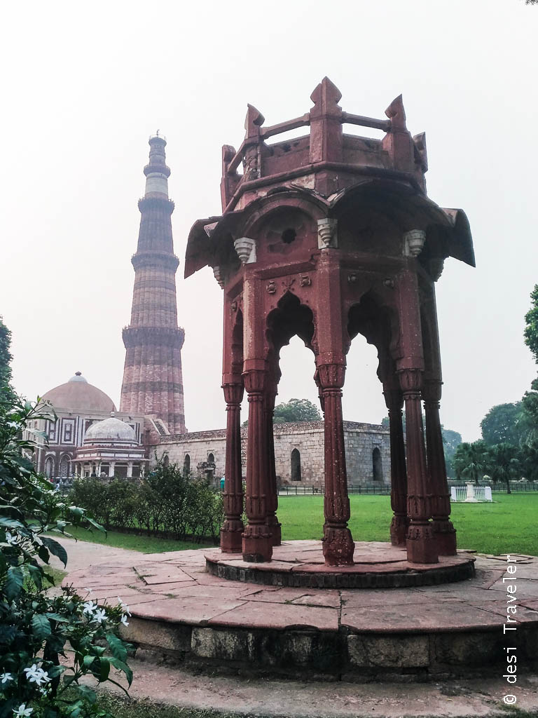 Review of Zenfone 3 Camera phone picture of Qutub Minar