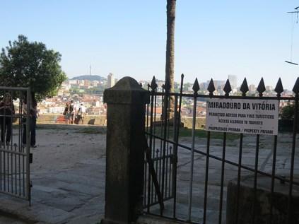 Miradouro da Vitória, no Porto