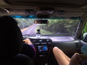 Estrada até San Blas no Panamá