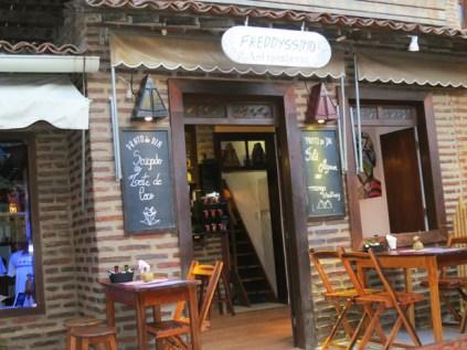Restaurante Freddyssimo em Jericoacoara