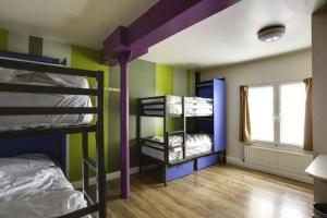 Hostel em Dublin Sky Backpackers. Ótima localização e custo x benefício