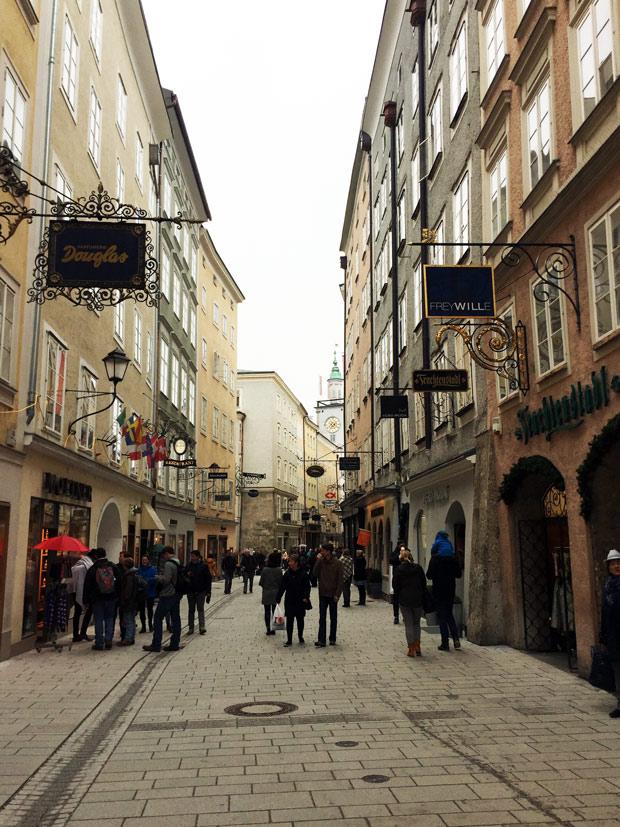Roteiro para Salzburg, cidade de Mozart e onde foi gravado o filme A Noviça Rebelde