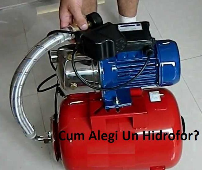 Cum Aleg Un Hidrofor?