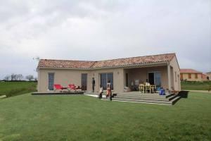 Aménagement d'une Terrasse en Bois - Samatan (32)