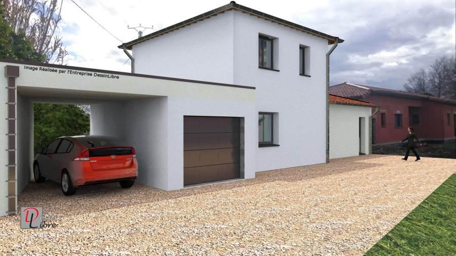 Maison de 120 m² avec un Etage - Mauzac (31)