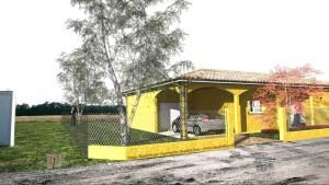 Vue Route d'accès - Garage et Carport
