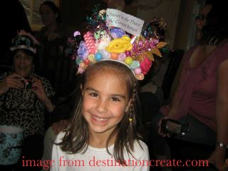 candy themed crown