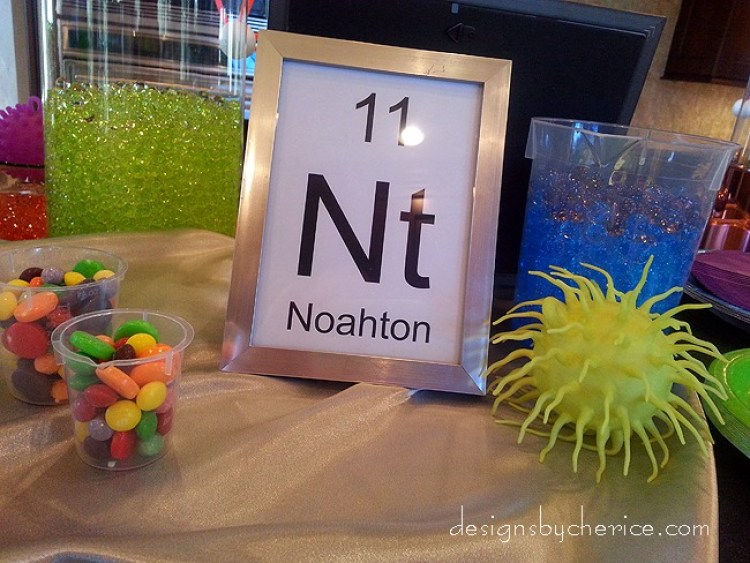 The birthday boy's name became a new element- Noahton