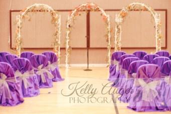 DIY Wedding Rentals Denver- white iron arches