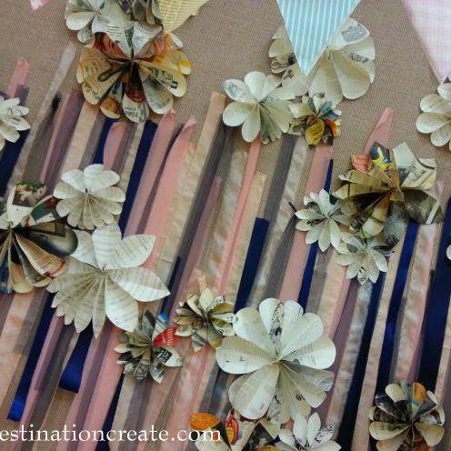 Wedding Decor Rentals Denver-paper flowers