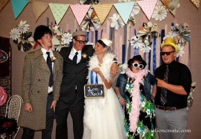 Cultural Hall Reception... photo booth