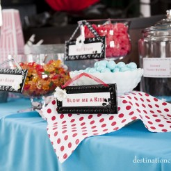 Retro/Vintage Wedding Denver- candy bar
