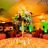 Columbine Country Club Wedding: Destination Create specializes in LDS wedding reception decorating, styling, planning & rentals.