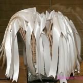 wedding send off- ribbon flag