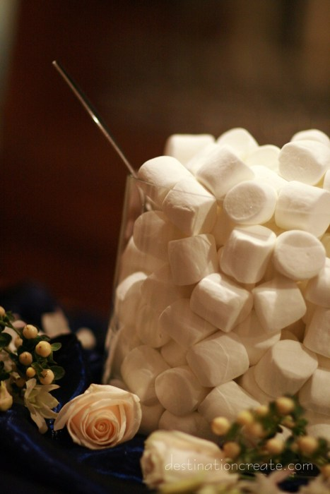 Hot chocolate bar ideas: Destination Create offers wedding planning, decorating, styling, planning & specialty rentals.