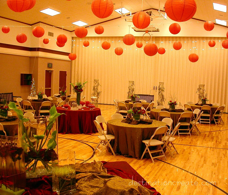lds cultural hall wedding decorating destination create