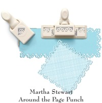 Martha Stewart around the page punch